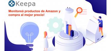 Instala Keepa en Chrome para monitorear un producto de Amazon