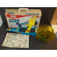 Vintage 1976 Living World Habitrail Speed ​​Streak Hamster Dragster nuevo con caja