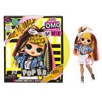 L.O.L. ¡Sorpresa! DIOS MIO. Remix Pop B.B. Fashion Doll - 25 sorpresas con música