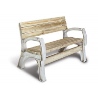 2x4basics 90134ONLMI Extremos de silla o banco personalizados de cualquier tamaño, arena (madera no incluida, solo soportes)