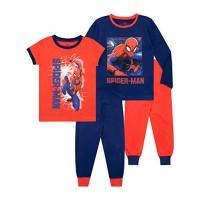 Marvel Boys Spiderman Pijamas Pack de 2