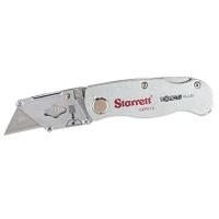 Navaja multiusos de hoja plegable de aluminio Starrett Exact Plus, modelo KUXP010-N
