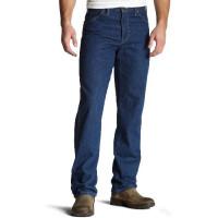 Dickies - Vaquero de 5 bolsillos para hombre, azul índigo, 42x32
