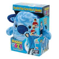 Ontel Huggle Pets Blue Puppy Animal sudadera con capucha