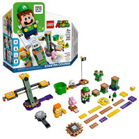 LEGO Super Mario Adventures with Luigi Starter Course 71387 Kit de construcción; Juego de juguetes coleccionables para niños creativos, nuevo 2021 (280 piezas)