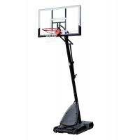 Aro de baloncesto portátil Spalding 54 Sistema de policarbonato Llanta de acero