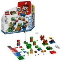 LEGO Super Mario Adventures with Mario Starter Course Building Kit caja abierta