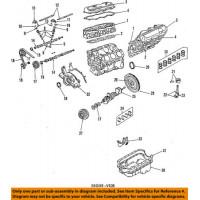 Sello del cigüeñal del cigüeñal del motor OEM de NISSAN 12279AD205