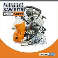 Farmertec Kit de piezas completo compatible con Stihl MS880 088 Cilindro del cárter