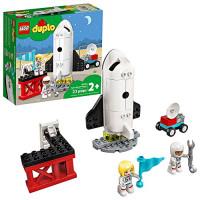 Juguete de construcción LEGO DUPLO Town Space Shuttle Mission 10944; Juego de aprendizaje creativo del transbordador espacial, nuevo 2021 (23 piezas)