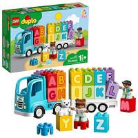 LEGO DUPLO My First Alphabet Truck 10915 ABC Letters Learning Toy para niños pequeños, divertido juguete educativo para niños (36 piezas)