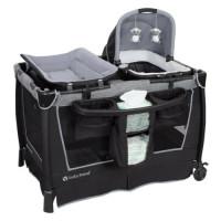 Corralito Baby Trend Simply Smart Nursery Center, Whisper Grey