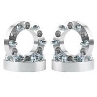 Espaciadores de rueda de 4 piezas 6x132 a 6x5.5 1.5 pulgadas para Traverse Acadia Enclave 14x1.5