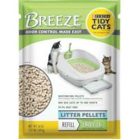 Pastillas de arena para gatos Purina Tidy, pastillas de arena de repuesto BREEZE, bolsa de 7 lb
