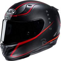 Casco HJC Helmets RPHA 11 Pro - Jarban (Grande) (Negro / ROJO)
