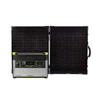 Goal Zero Yeti 1500X Estación de energía portátil, Estación de energía de emergencia portátil con batería de litio de 1516 vatios-hora, Generador de inversor de CA portátil de 2000 vatios con maletín Boulder 100 Panel solar portátil